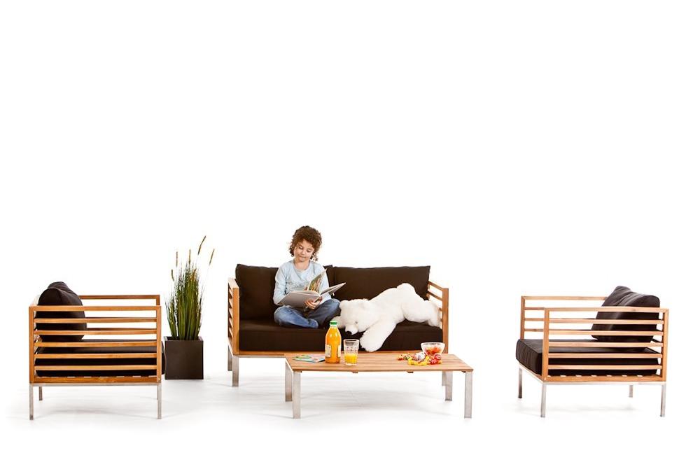holz lounge gartenm bel park. Black Bedroom Furniture Sets. Home Design Ideas