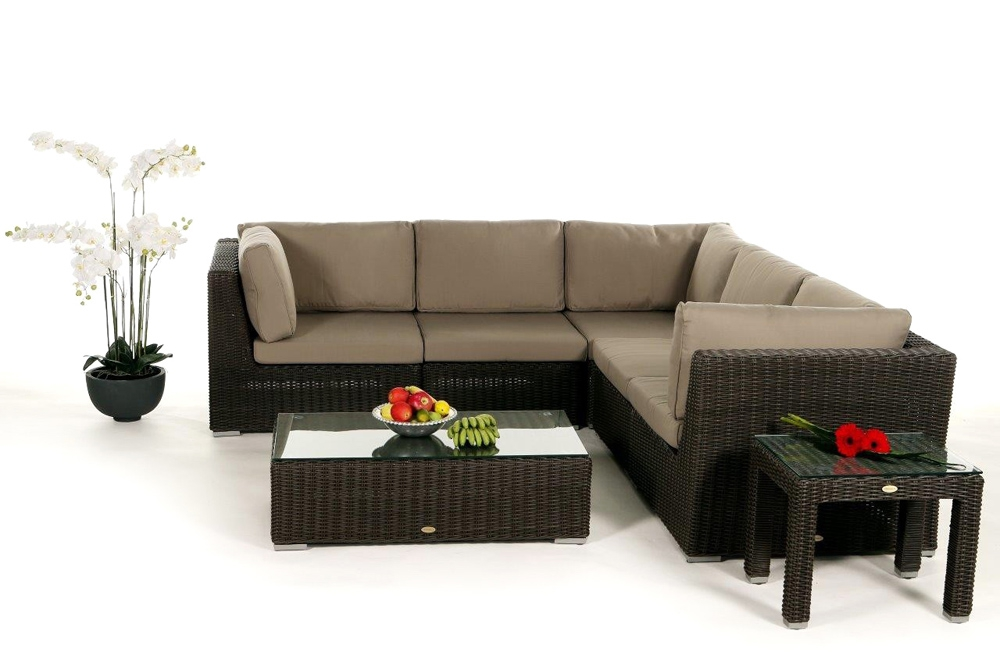 rattanliege outdoor lounge rattan rattan m bel g nstig rattanliege gartenm bel 5er sofa. Black Bedroom Furniture Sets. Home Design Ideas