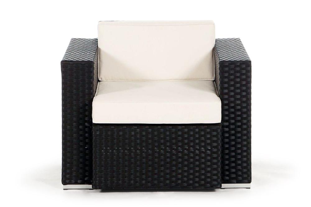 sessel f r die california rattan lounge. Black Bedroom Furniture Sets. Home Design Ideas