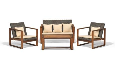holz lounge gartenm bel lounge rattan esstisch rattan lounge m bel. Black Bedroom Furniture Sets. Home Design Ideas