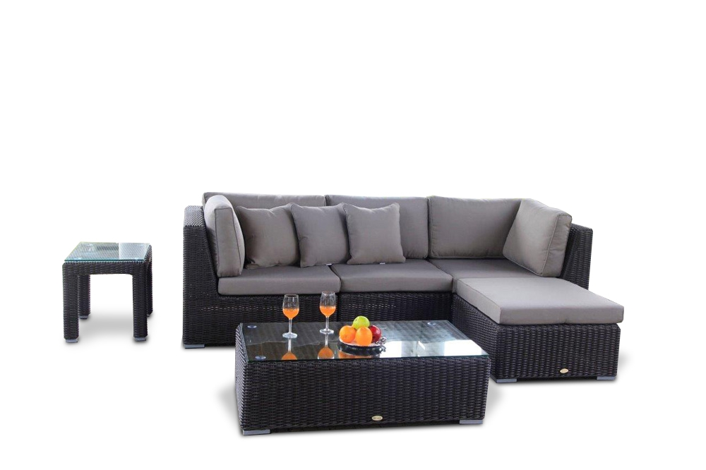 gartenlounge rattan g nstig. Black Bedroom Furniture Sets. Home Design Ideas