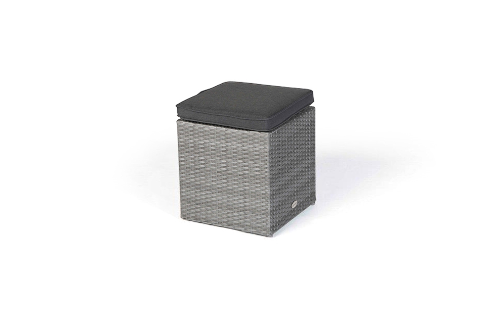 rattan hocker passend zur rattan lounge dining manila. Black Bedroom Furniture Sets. Home Design Ideas