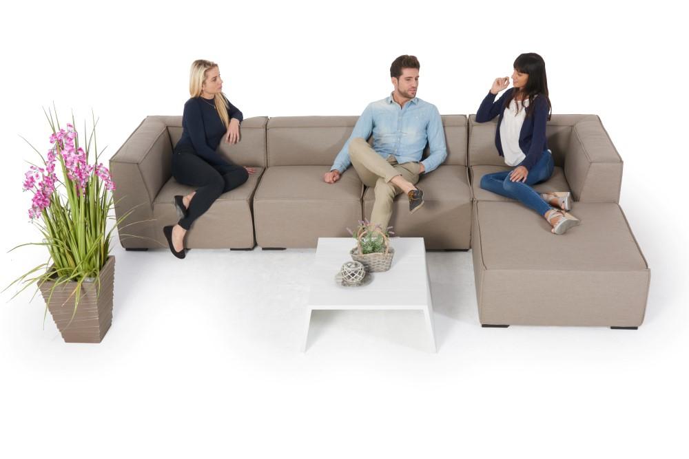 Schöne Allwetter Lounge wetterfeste Outdoor Lounge in der Schweiz kaufen
