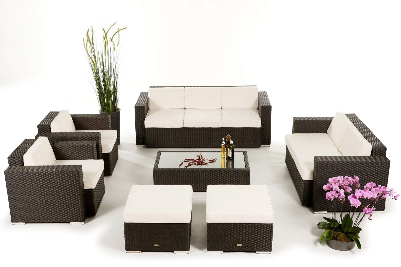 gartenm bel lounge rattan rattanm bel g nstig rattan. Black Bedroom Furniture Sets. Home Design Ideas