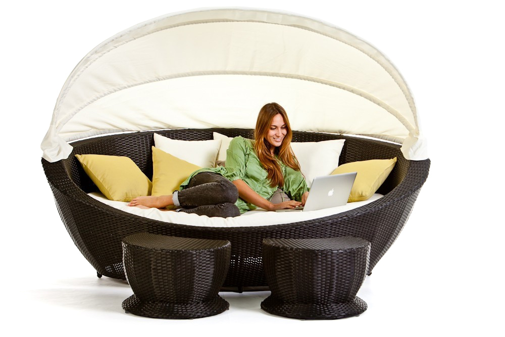 summerdream rattan liege black sonneninsel. Black Bedroom Furniture Sets. Home Design Ideas