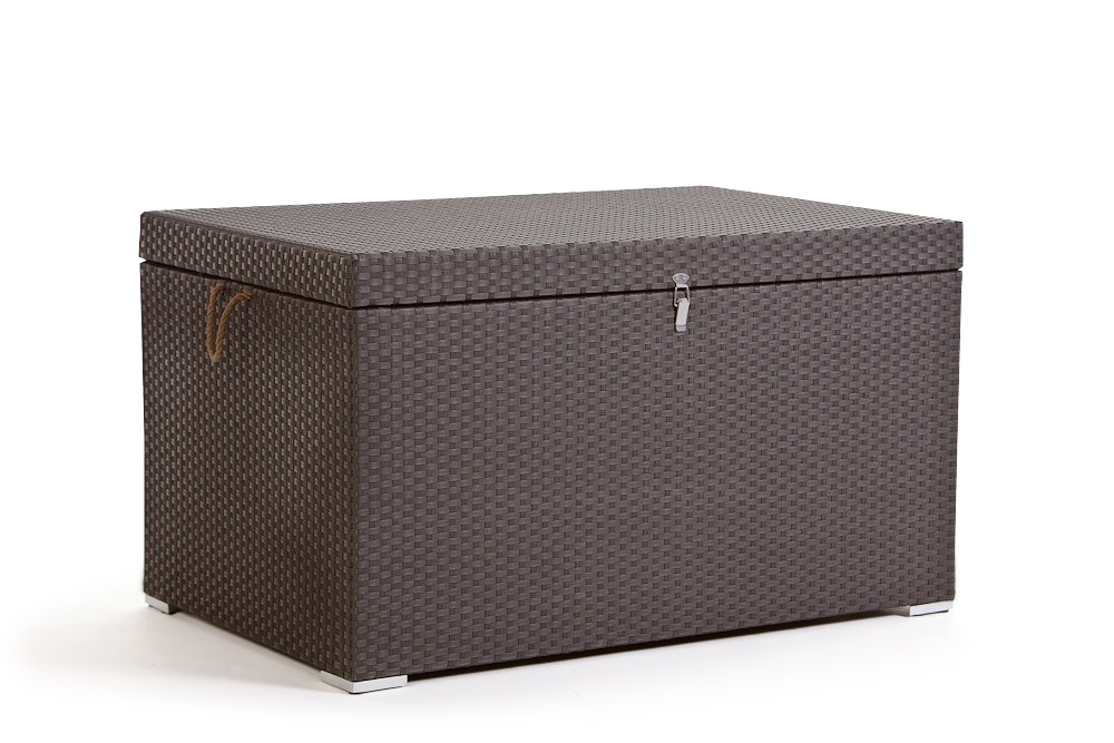 Kissentruhe - Kissenbox - Rattan - gross - big - braun ...