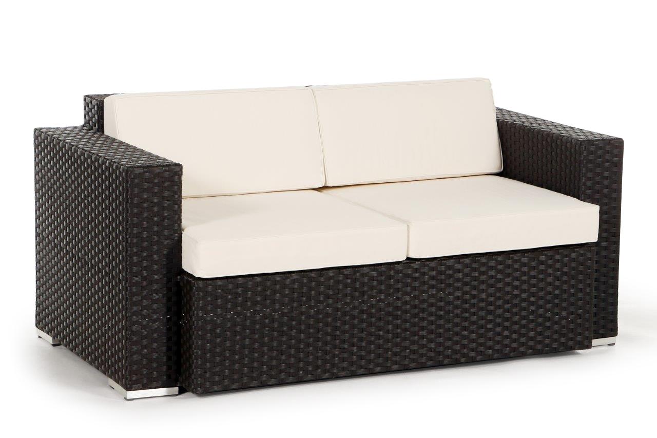 2er sofa zur erweiterung der california rattan lounge. Black Bedroom Furniture Sets. Home Design Ideas
