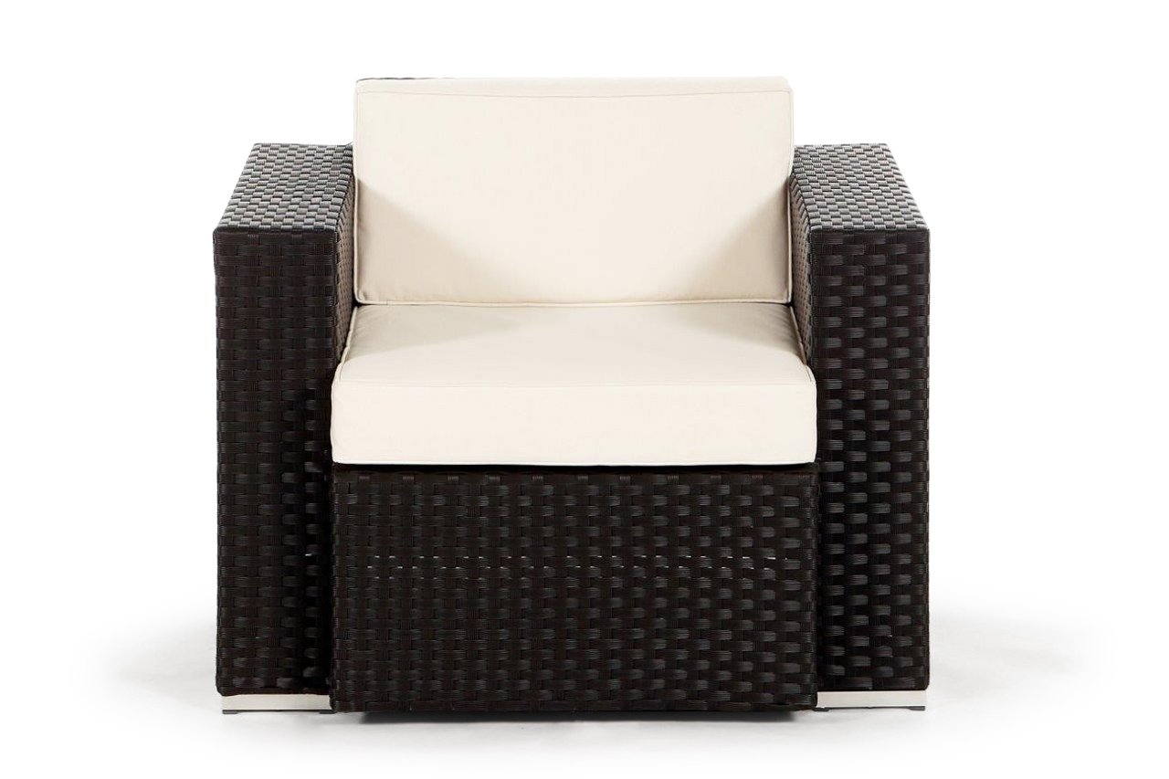 sessel f r die california rattan lounge. Black Bedroom Furniture Sets. Home Design Ideas