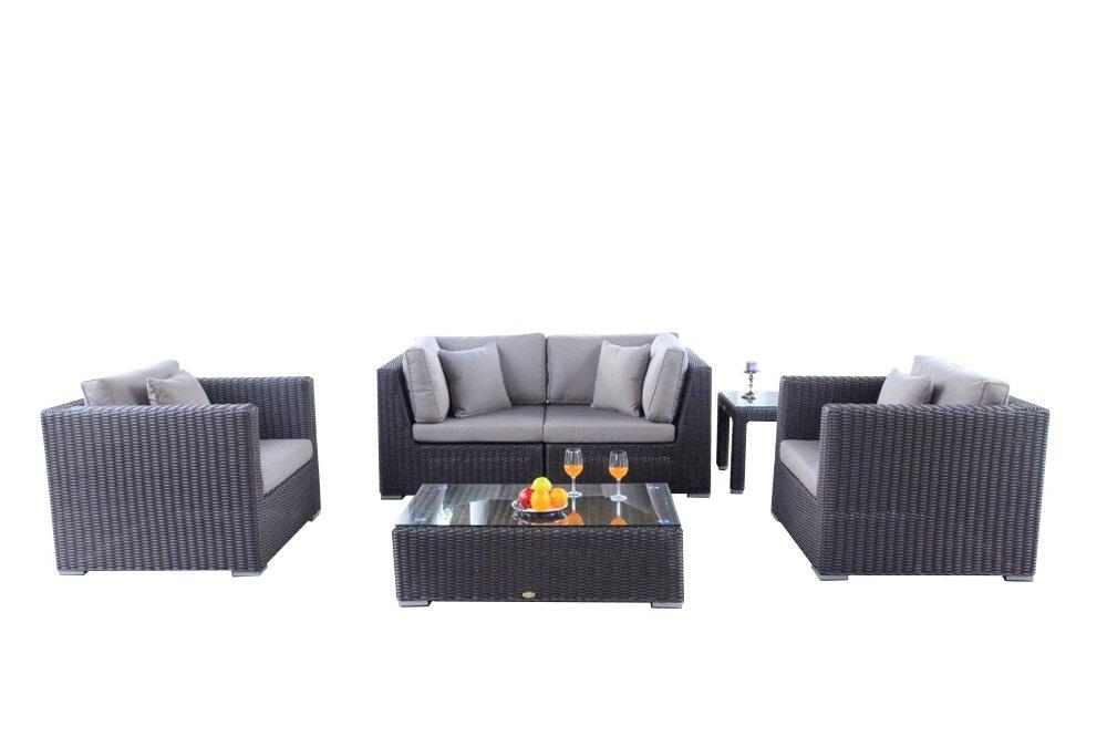 rattan rattanm bel rattan lounge gartenmoebel gartenausstattung kamari braun dicke. Black Bedroom Furniture Sets. Home Design Ideas