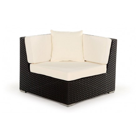 rattan lounge g nstig gartenm bel baires gray brown. Black Bedroom Furniture Sets. Home Design Ideas