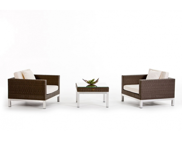 rattan lounge grau geigenet f r den innen und den aussenbereich. Black Bedroom Furniture Sets. Home Design Ideas