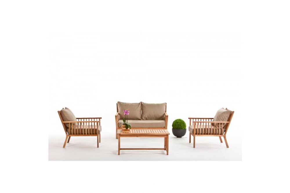holz lounge gartenm bel piazza gartenm bel rattan. Black Bedroom Furniture Sets. Home Design Ideas