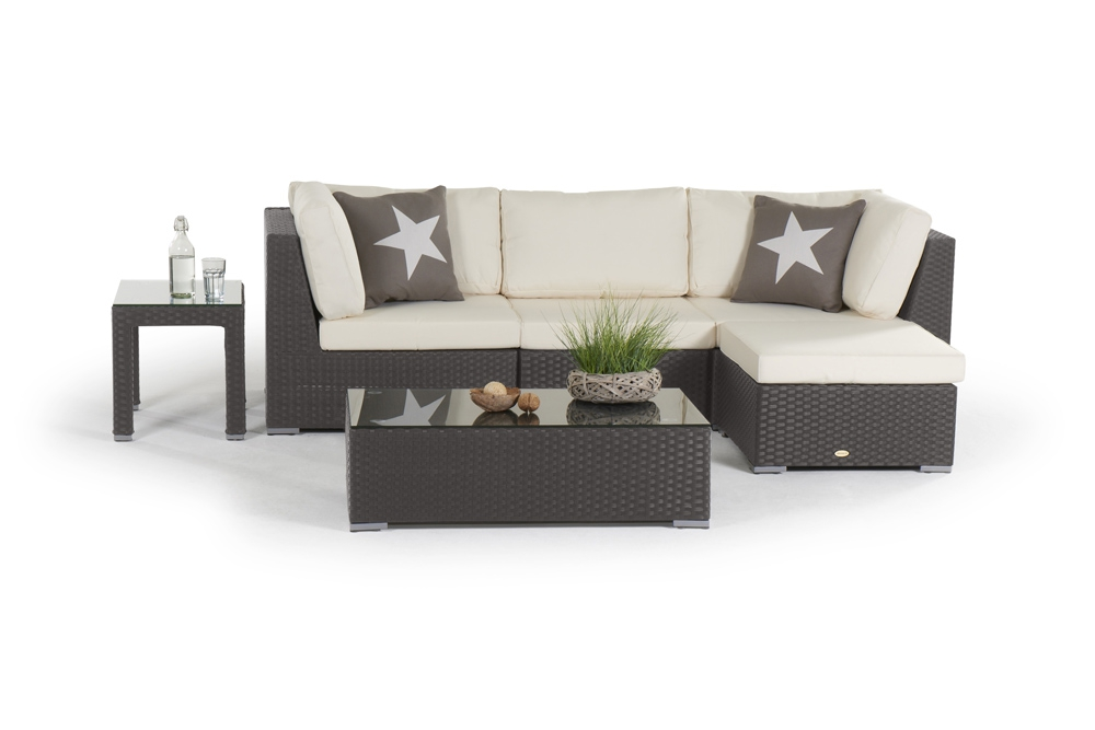 rattan lounge beverly hill gartenm bel polyrattan rattanm bel braun. Black Bedroom Furniture Sets. Home Design Ideas