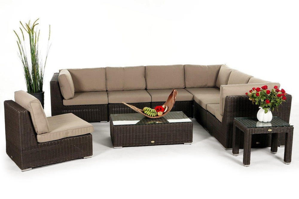 rattanliege outdoor lounge rattan rattan m bel. Black Bedroom Furniture Sets. Home Design Ideas