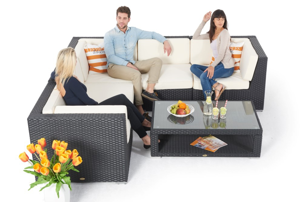 rattanlounge crystel sofa rattan gartenlounge rattan. Black Bedroom Furniture Sets. Home Design Ideas