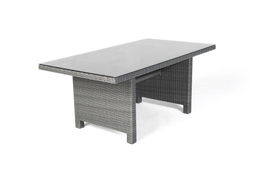 rattan tisch set lounge dining gartenm bel rattan. Black Bedroom Furniture Sets. Home Design Ideas
