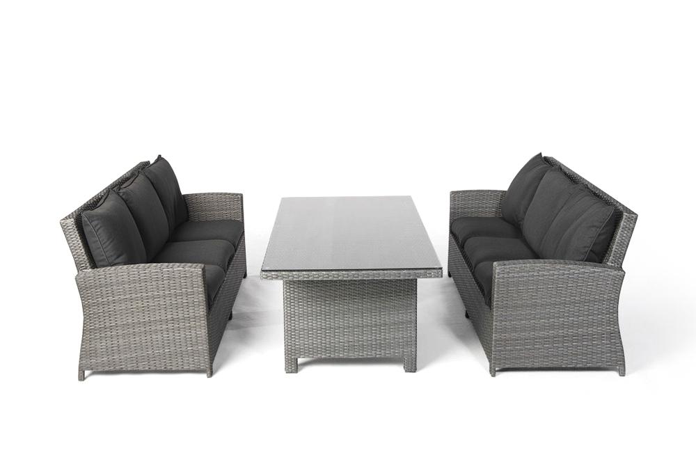 rattan tisch set lounge dining gartenm bel rattan gartenm bel kunststoffgeflecht manila mix. Black Bedroom Furniture Sets. Home Design Ideas
