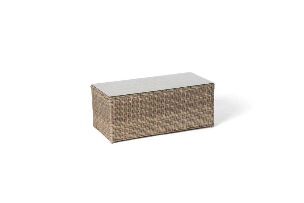 rattan lounge medina natural round hochwertiges gartenm bel set. Black Bedroom Furniture Sets. Home Design Ideas