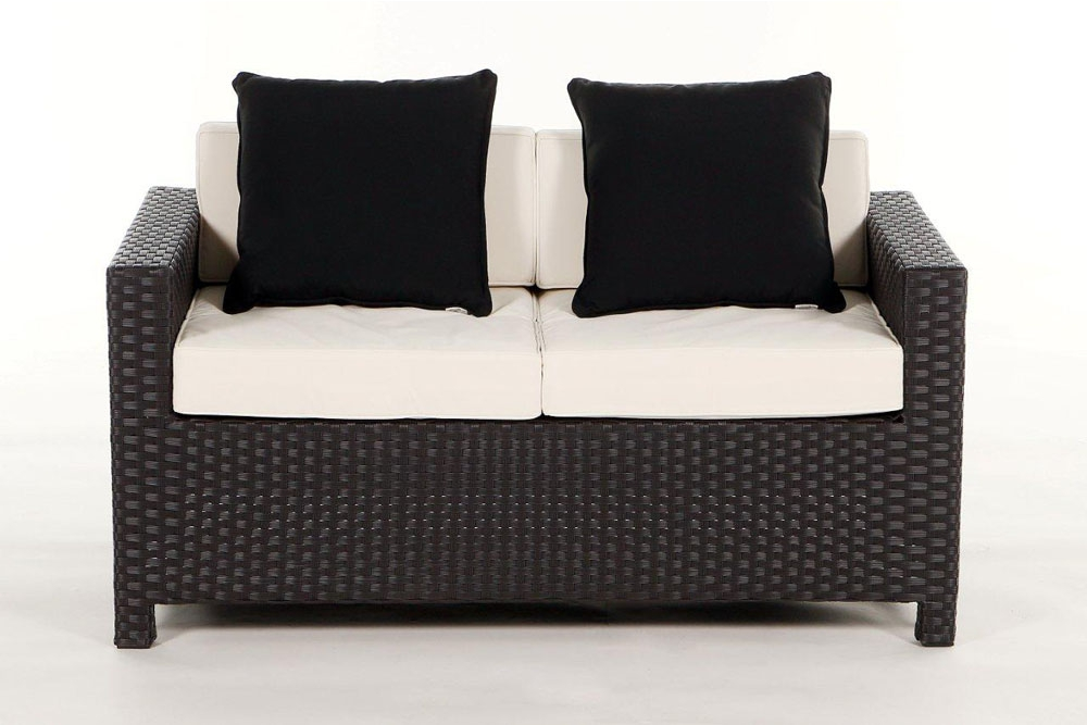 gartenm bel set rattan lounge samoa in braun. Black Bedroom Furniture Sets. Home Design Ideas