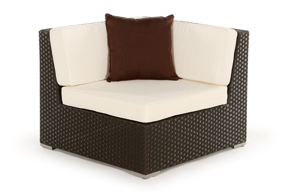 zierkissen passend zu rattan lounge gartenm bel brown. Black Bedroom Furniture Sets. Home Design Ideas