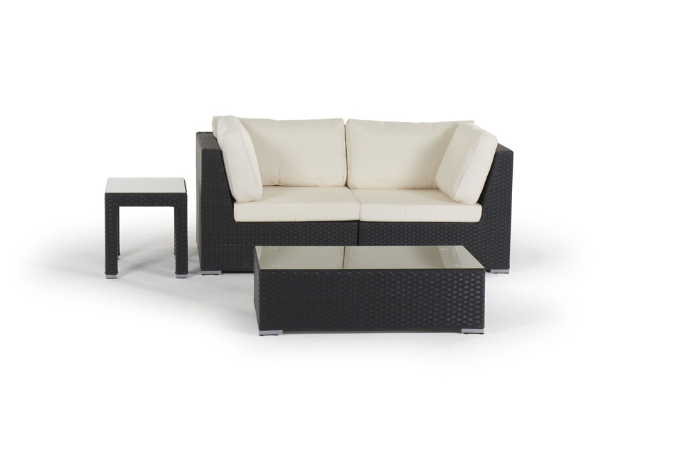 rattan lounge shanghai gartenm bel polyrattan rattanm bel schwarz. Black Bedroom Furniture Sets. Home Design Ideas
