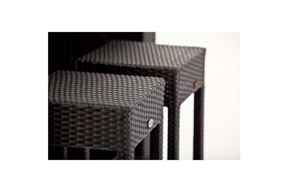 rattan bar comodo black gartenm bel rattan outdoor lounge. Black Bedroom Furniture Sets. Home Design Ideas