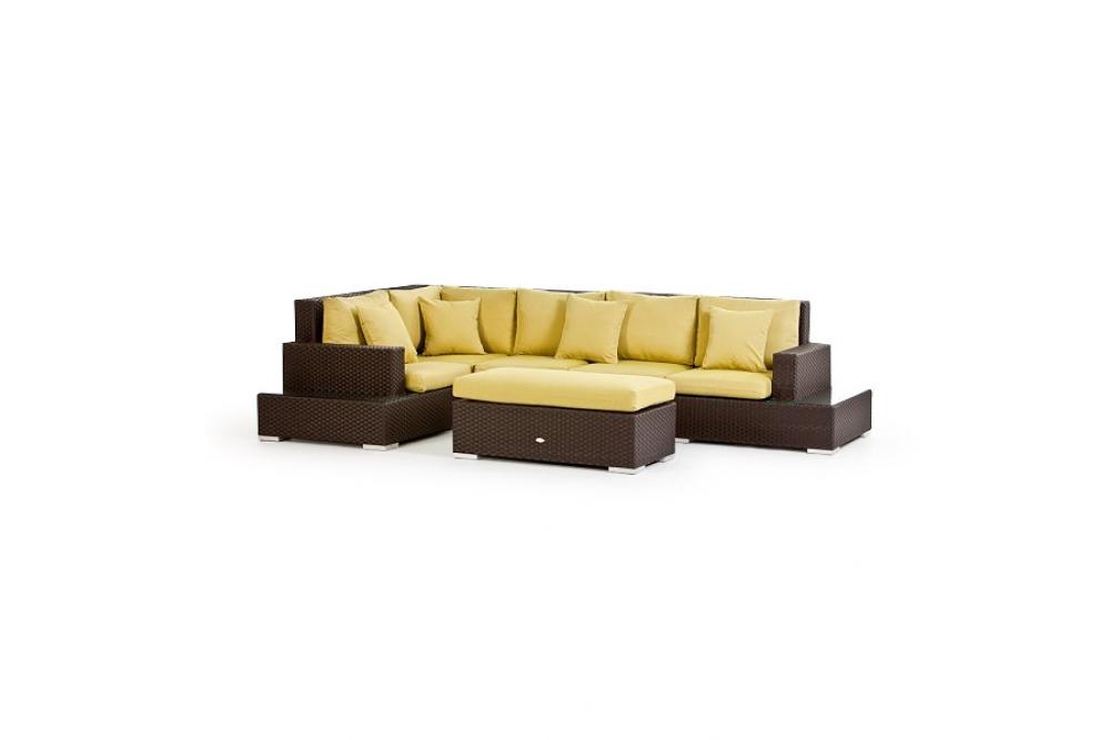 polsterbezug passend zum rattan lounge m bel sandman. Black Bedroom Furniture Sets. Home Design Ideas