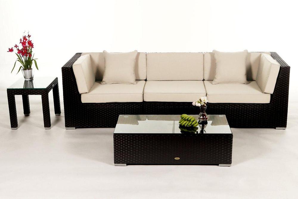 berz ge in verschiedenen farben f r die polster der rattan lounge las lomas. Black Bedroom Furniture Sets. Home Design Ideas