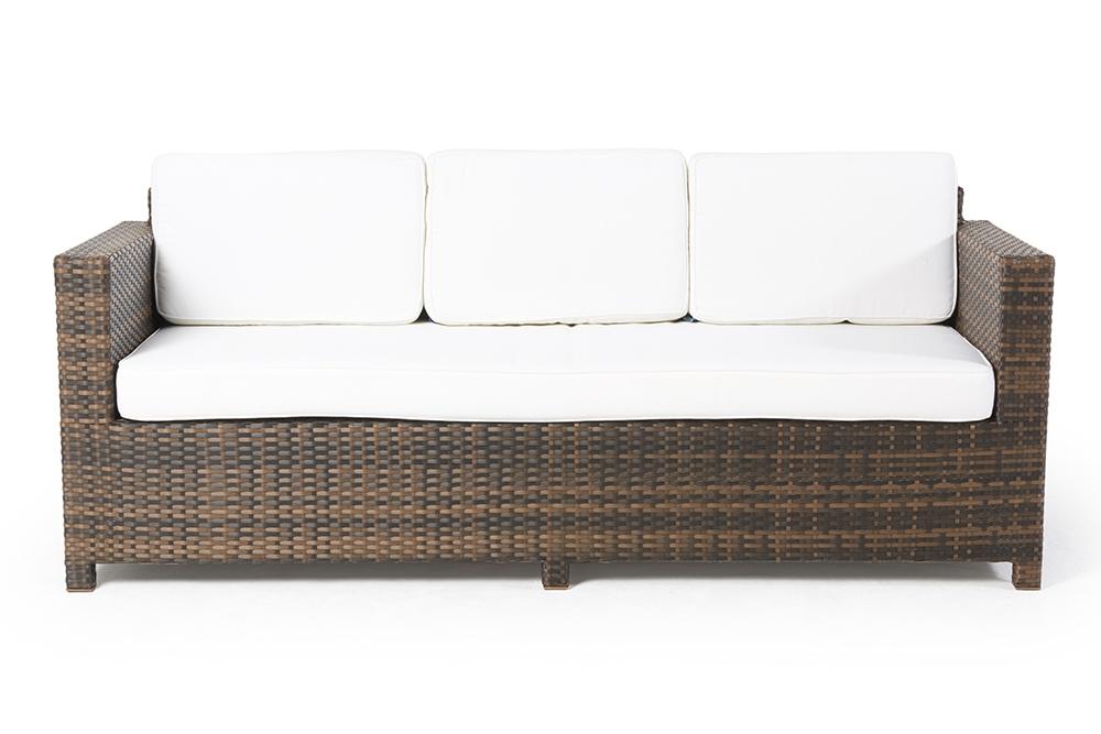 sch ne gartenlounge momoko im rattan geflecht braun f r die terrasse oder in den garten. Black Bedroom Furniture Sets. Home Design Ideas