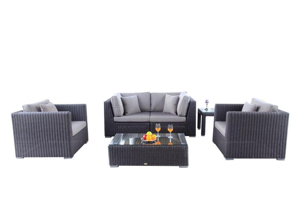 rattan rattanm bel rattan lounge gartenmoebel. Black Bedroom Furniture Sets. Home Design Ideas