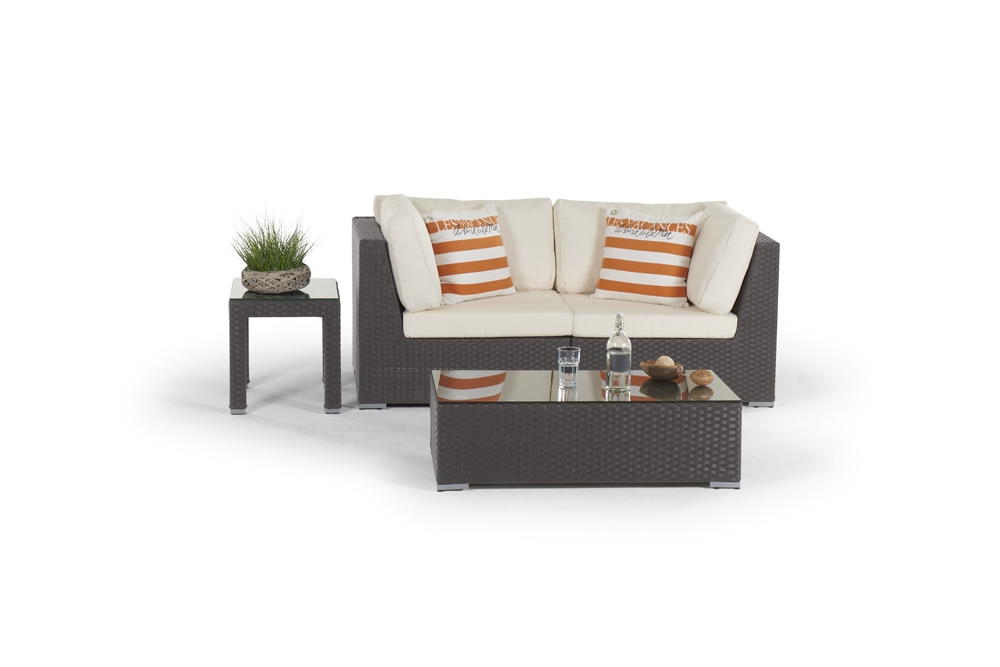 rattan lounge shanghai gartenm bel polyrattan rattanm bel braun. Black Bedroom Furniture Sets. Home Design Ideas