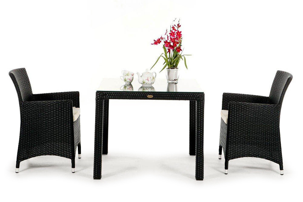 rattan lounge gartenm bel rattan gartenm bel kunststoffgeflecht mezza luna braun. Black Bedroom Furniture Sets. Home Design Ideas