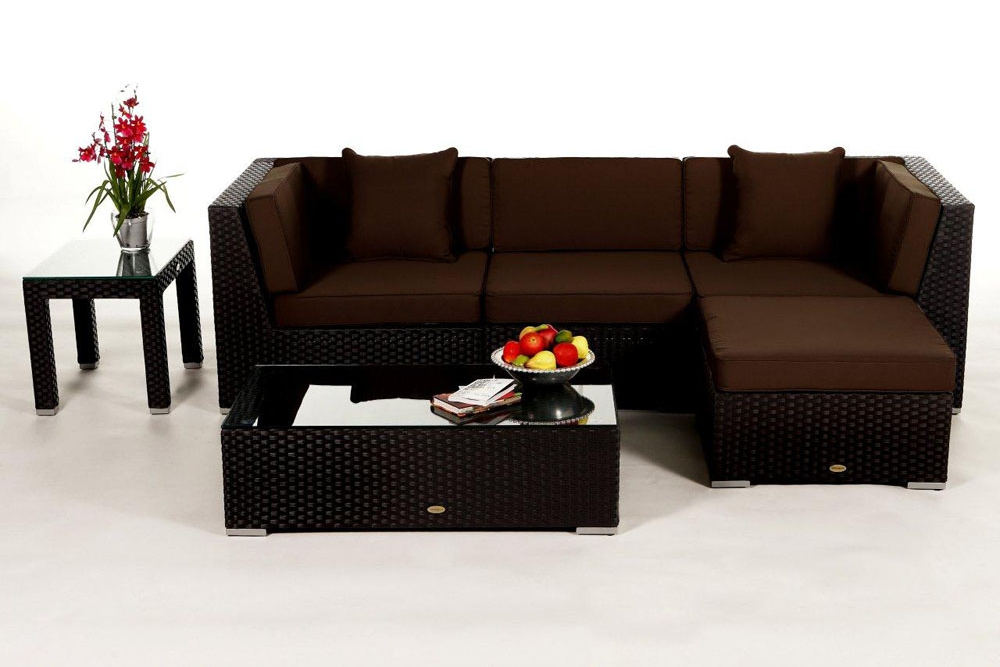 rattanliege outdoor lounge rattan rattan m bel. Black Bedroom Furniture Sets. Home Design Ideas