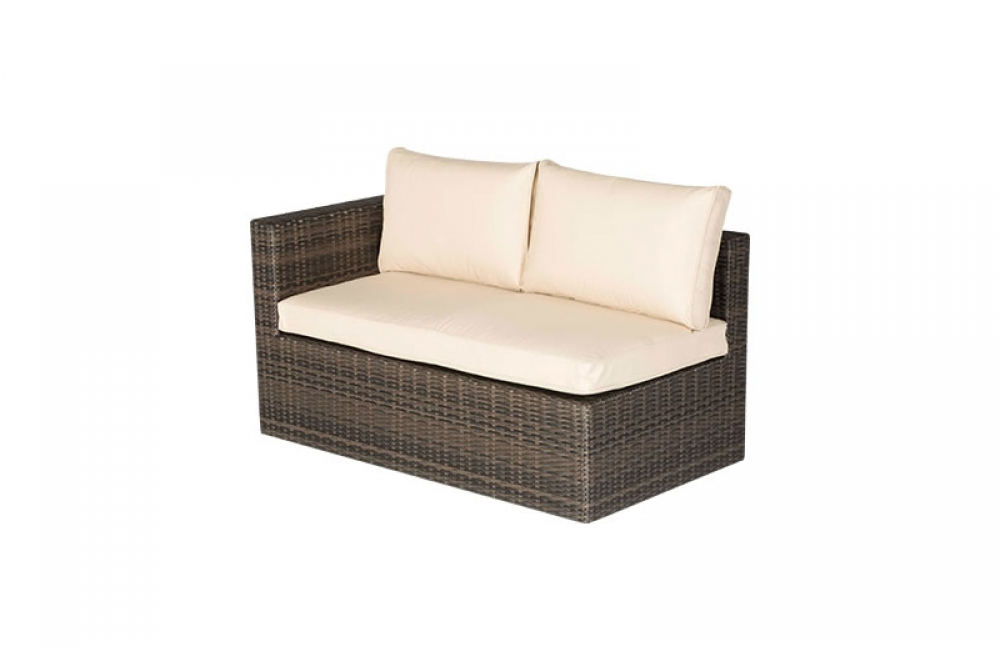 rattan lounge bahia dark brown gartenm bel aus. Black Bedroom Furniture Sets. Home Design Ideas