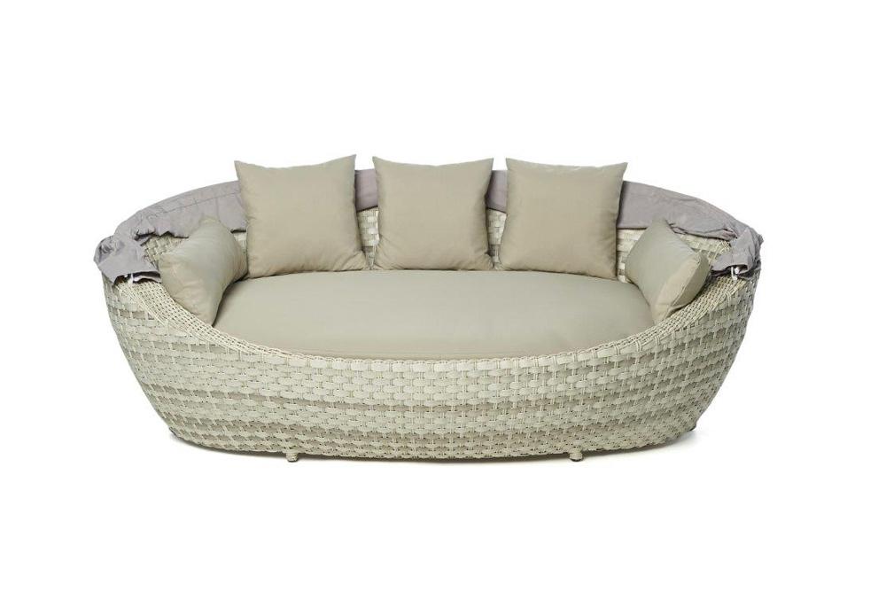 summerdream spicy rattan sonnenliege garden special beige lounge sonneninsel. Black Bedroom Furniture Sets. Home Design Ideas