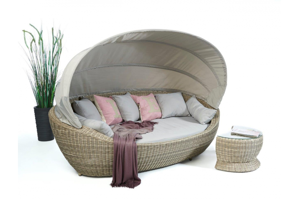 summerdream spicy rattan liege beige lounge sonneninsel. Black Bedroom Furniture Sets. Home Design Ideas