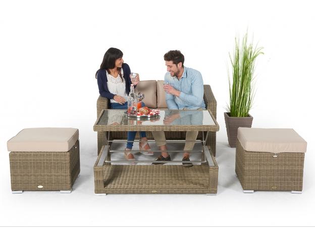 Rattan Gartenmöbel Günstig Kaufen Rattan Lounge Rattan Tisch