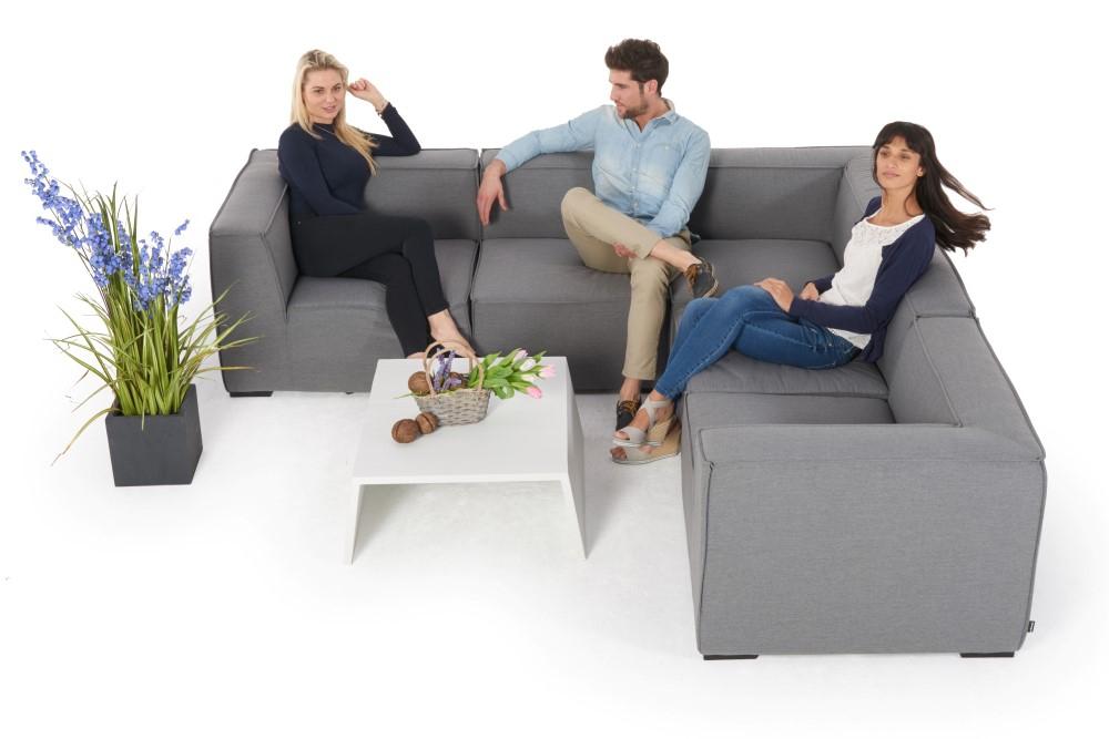 gartenmobel rattan lounge grau, eduard outdoorstoff lounge - sunbrella - outdoor stoff - grey, Design ideen