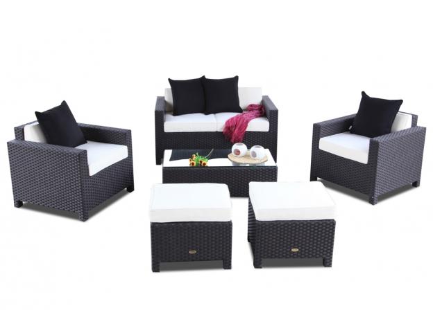 Rattan lounge schwarz  Rattan Lounge, Garden Furniture, Wicker Outdoor Furniture, Rattan ...