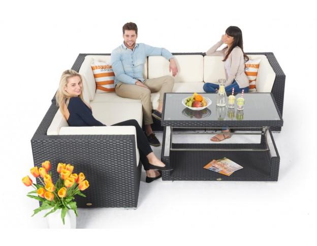 Gartenmöbel set rattan lounge  Rattan Gartenmöbel günstig kaufen - Rattan Lounge - Rattan Tisch ...