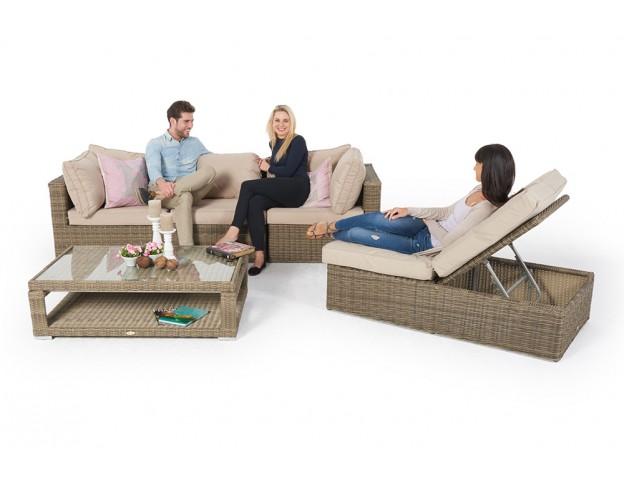 Rattan sofa garten  Rattan Gartenmöbel günstig kaufen - Rattan Lounge - Rattan Tisch ...