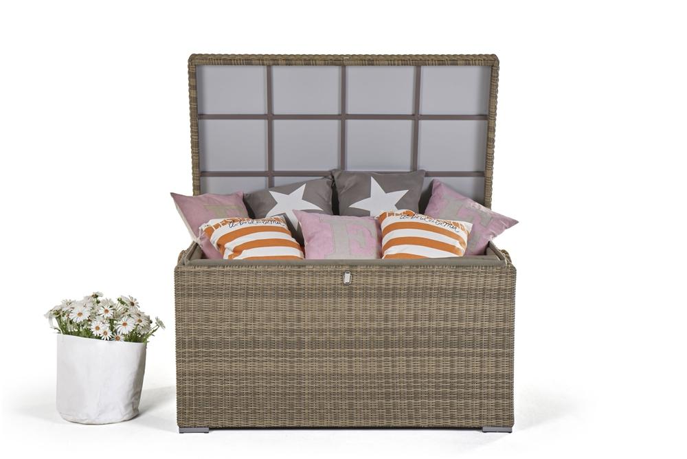 Rattan kisenbox for Gebrauchte rattan lounge